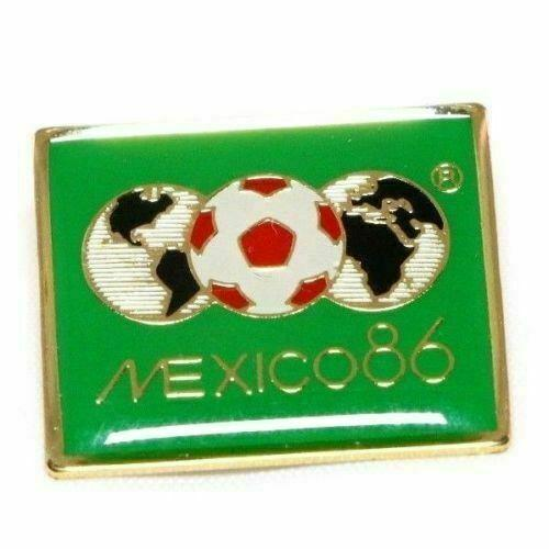 1986 FIFA World Cup Mexico Futbol Soccer Lapel Pin