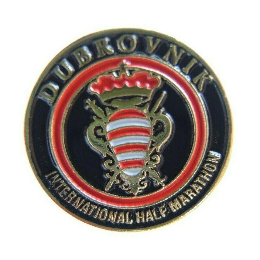 Dubrovnik International Half Marathon Running Lapel Pin