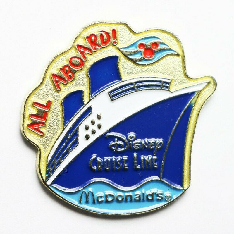 McDonald's Disney Cruise Line All Aboard! Lapel Pin