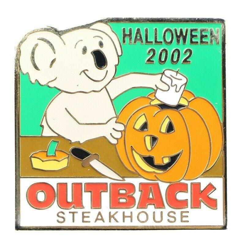 Outback Steakhouse Halloween 2002 Lapel Pin