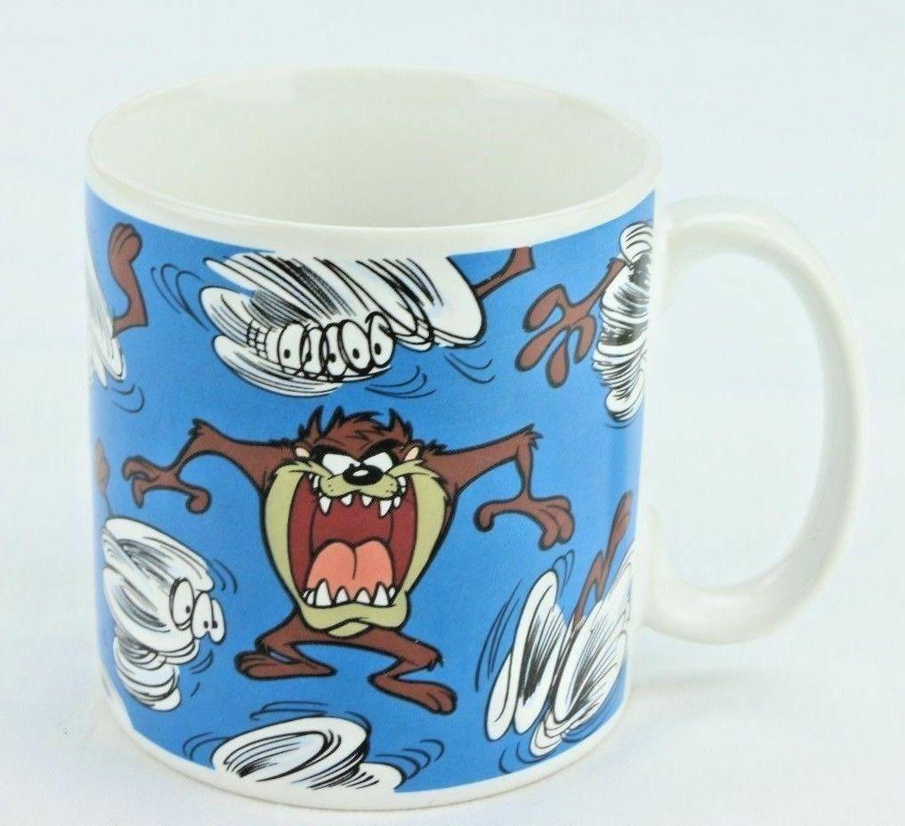 Tasmanian Devil Coffee Mug Warner Bros Looney Tunes Taz 1994 by Applause Cup.